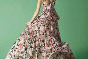 Vestidos largos primaverales muy elegantes