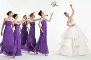 Lindos vestidos para damas de honor