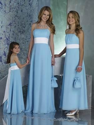 Vestidos para damas de honor sencillos