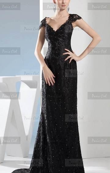 Vestidos negros espectaculares de fiesta