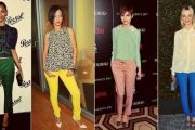 Tendencias: Pantalones de colores