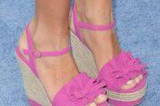 Sandalias de plataforma para el verano