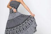 Cómo usar faldas largas