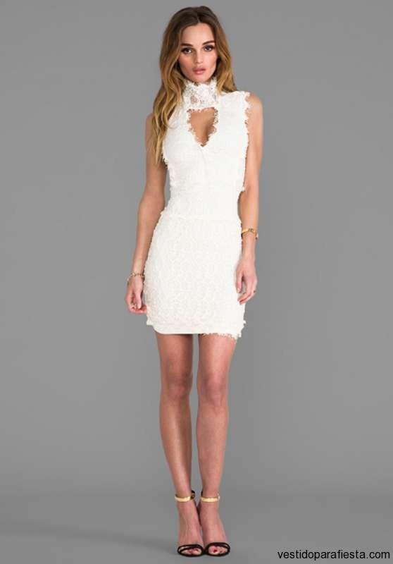 02a03fa5f Vestidos de fiesta cortos de encaje blanco – Vestidos baratos