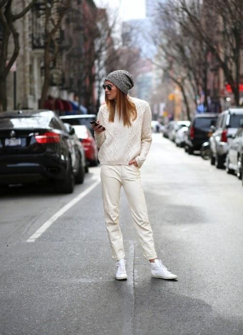 outfits blancos primavera