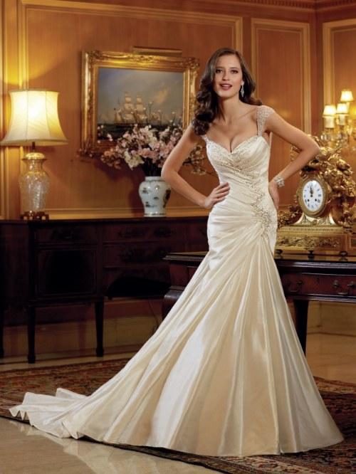 sensuales vestidos novia