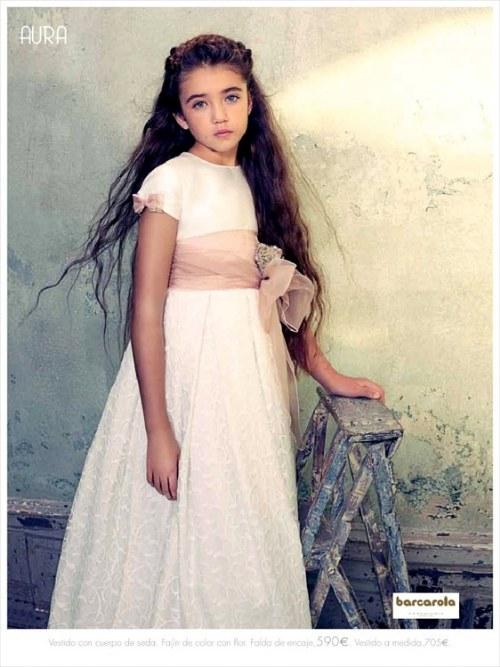 vestidos comunion niñas