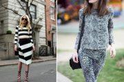 Nueva tendencia de Combinar outfits con diferentes estampados