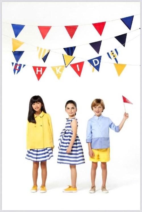 moda niños primavera