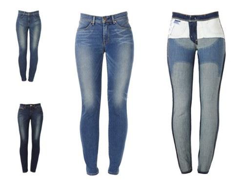 jeans moldean cuerpo