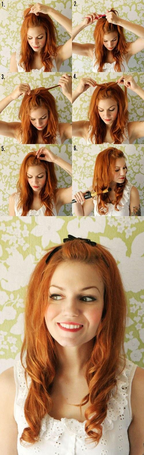Fabulosos Peinados fáciles de hacer para Primavera y Verano