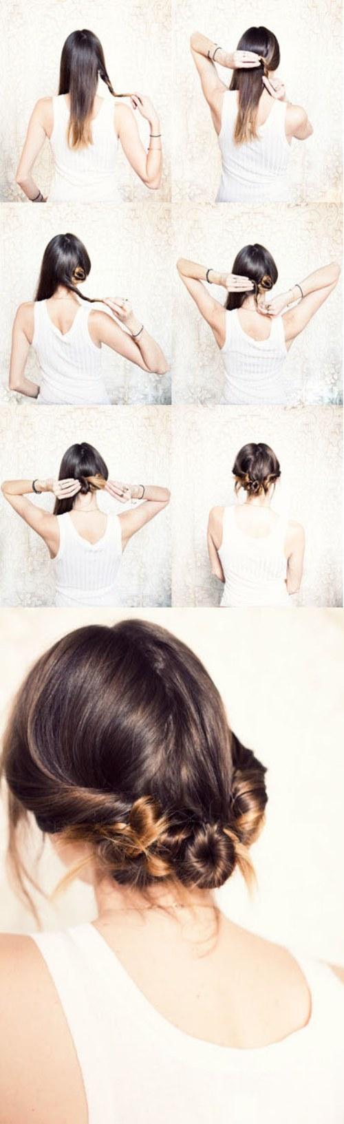 tutoriales peinados lindos