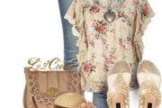 Outfits Polyvore florales perfectos para esta Primavera