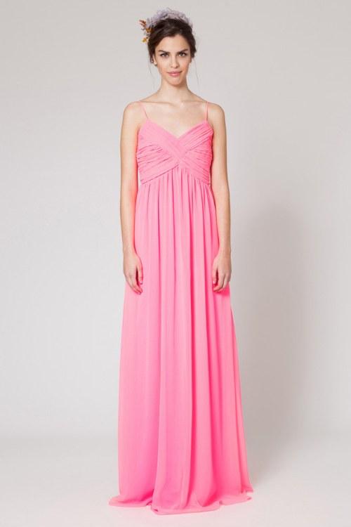Colección de vestidos de color rosa para ir a Bodas | AquiModa.com
