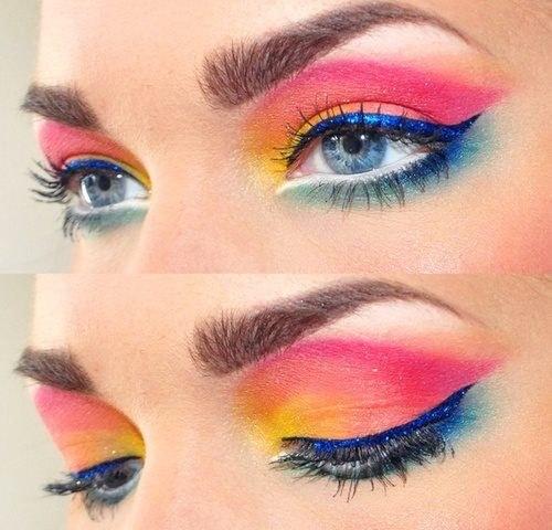 maquillaje ojos primavera