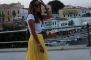 Tendencia de Outfits de color Amarillo para esta Primavera y Verano
