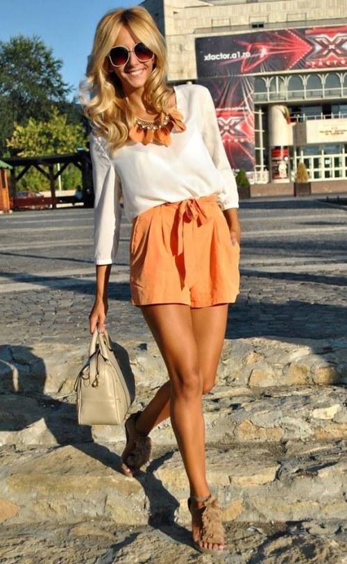 Coquetos y elegantes Outfits casuales con Blusas