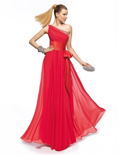 Nueva Tendencia para Vestidos elegantes con Cinturon o Cintas
