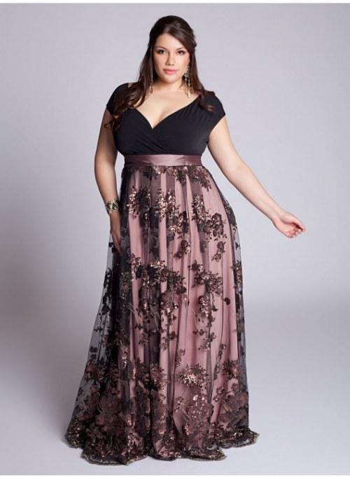 Vestido Elegante y de Gala para Gorditas