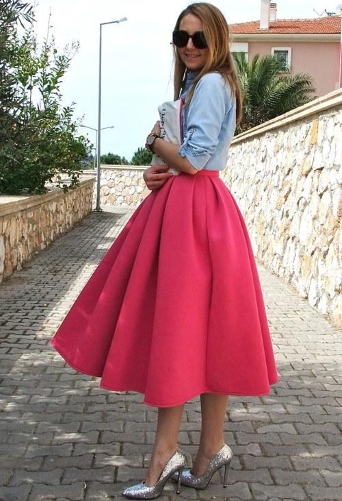572528423 Prendas de vestir exteriores de todos los tiempos: Faldas midi ...