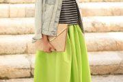 Increíbles Outfits con Midi Faldas para Primavera y Verano