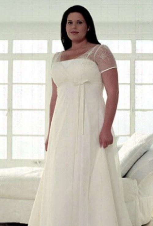 6a23dc864c 8 Hermosos Vestidos de Novia para gorditas
