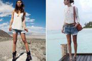 Shorts de jean, perfectos para usarlos en temporada de Primavera y Verano