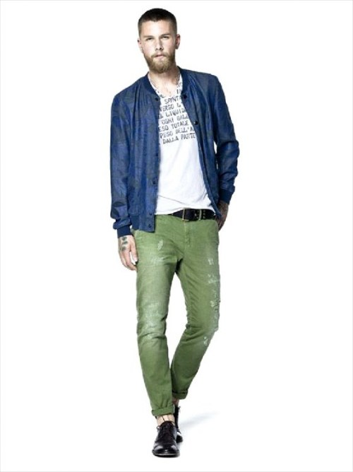 sisley casual hombres