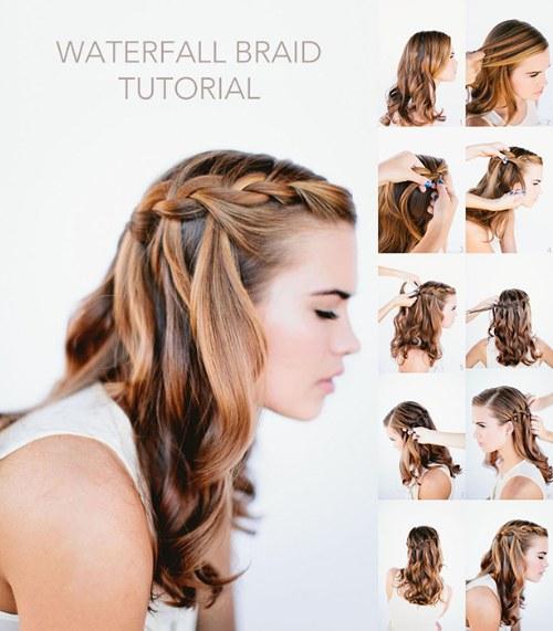 Foto tutoriales de diferentes peinados de trenzados para - Tutorial de peinados ...