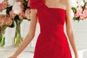 Vestidos de fiesta rojos cortos