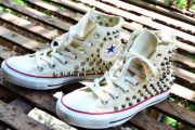Ideas para decorar tus Converse y darle un look mas chic