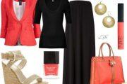 Vestirse con Outfits Polyvore de color Coral es tendencia para este Verano