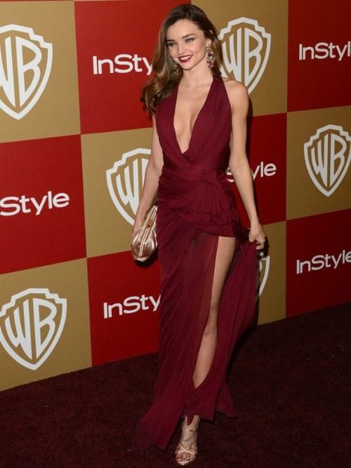 Elegantes vestidos con corte alto en la pierna para lucir Atractiva