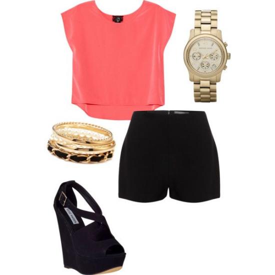 Outfits con Crop-Tops, tendencias de Primavera y Verano