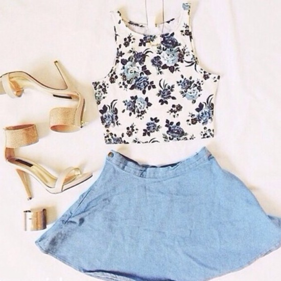 outfits crop tops