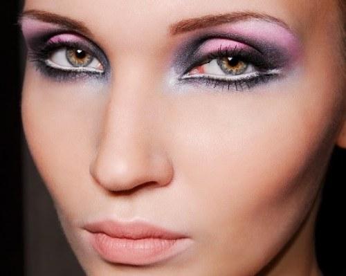 truco maquillaje delineador blanco
