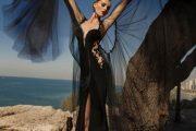 Sensuales trajes de noche en color negro: Colección Hechizo de Luna