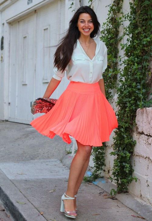 Vuelven las Faldas Plisadas para Primavera y Verano!!
