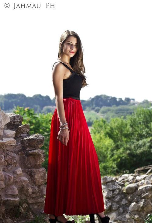 faldas plisadas verano primavera