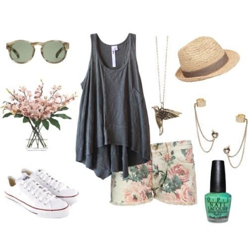 outfits con calzados flats