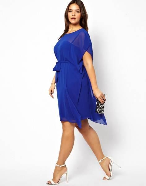 Платье шифон Mini короткая лето, стиль сексуальный женщины 4Xl 5Xl 6Xl синий женское платья дамы халат рукав большой