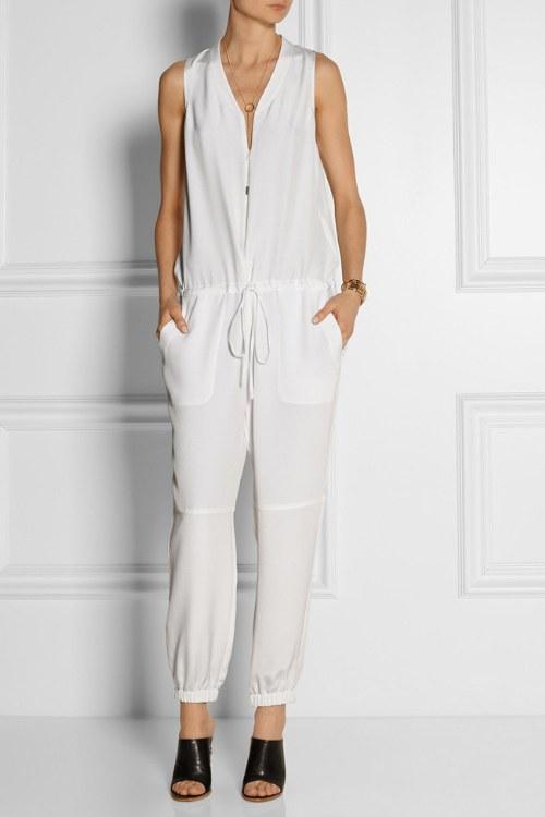 jumpsuits blancos tendencias primavera