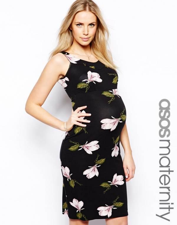 Vestidos largos de primavera y verano para embarazadas