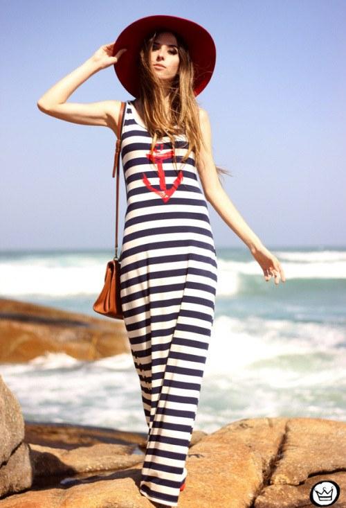 outfits rayas marineras nautico