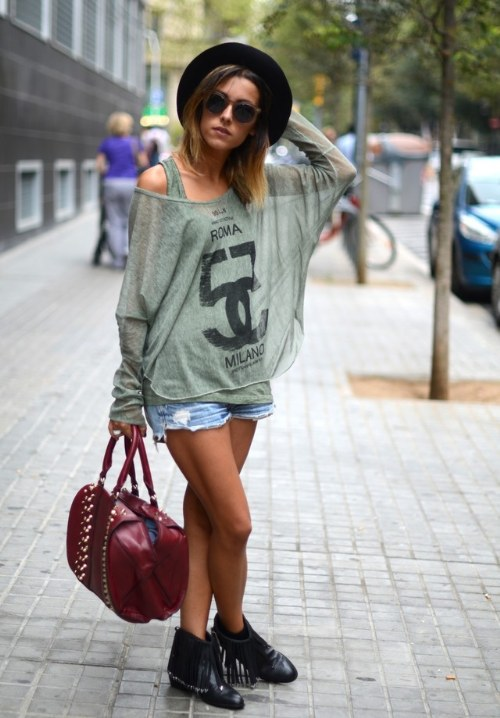 outfits casuales rebeldes