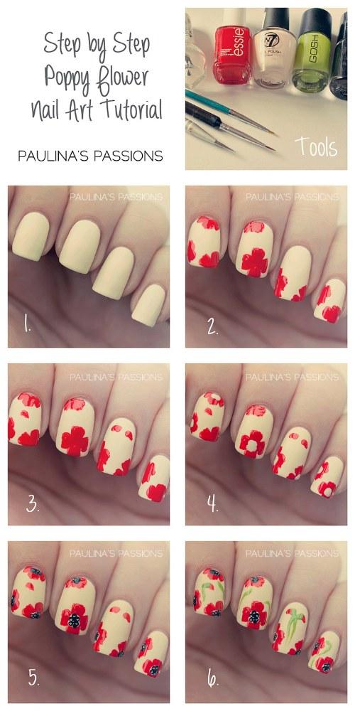 tutoriales diseños uñas