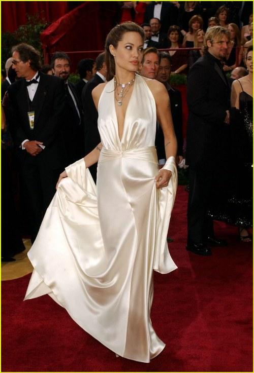 vestidos elegantes cuello v