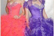 Espectaculares vestidos para quinceañeras