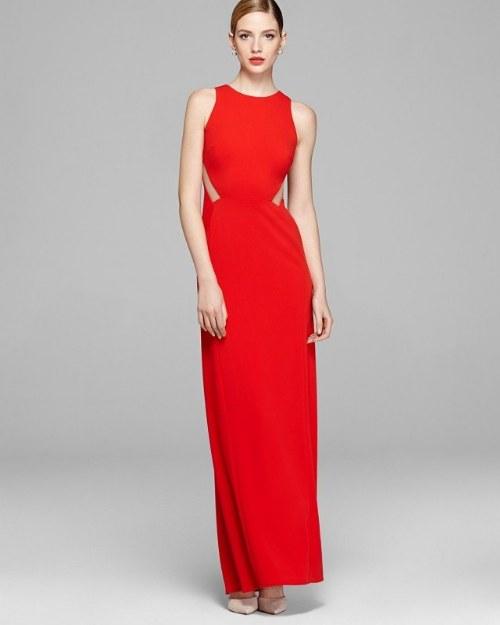 vestidos rojos dama de honor