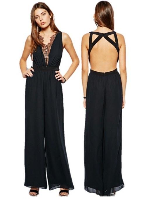 vestidos elegantes espalda descubierta
